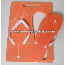 custom printed board slipper,square board flip flop