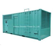 500kw - 2000kw Containerized soundproof Gerador Diesel Conjuntos