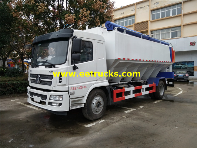 SHACMAN Bulk Cement Delivery Trucks