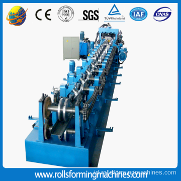 Penuh Otomatis CZ Purlin Roll Forming Machine