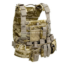 Tactical Camo Safety Vest with Pockets