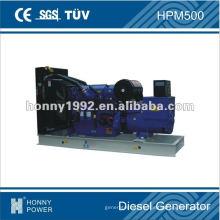Conjunto de generación diesel de 360 kW, HPM500, 50 Hz