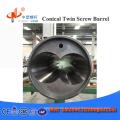 tornillo bimetálico y barril para máquina extrusora de plástico