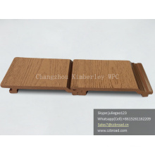 Easy Install Decking Anti-UV High Workable Plank WPC Composite Wall Cladding