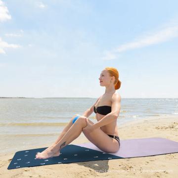 Factory Anti Slip Custom Logo Yoga Mat Eco Friendly PVC Natural Rubber Travel Yoga Mat