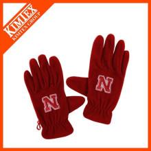 wholesale custom winter polar fleece gloves