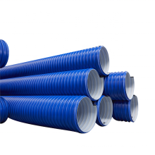 New Material China Manufacture Wholesale Double Wall High Density Hdpe Drain Water Hdpe Pipe Plastic