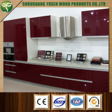 Wood Material High Gloss Kitchen Cabinet