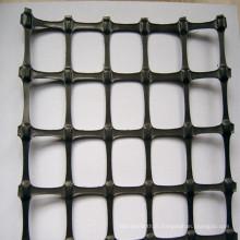 Géogrille noire en plastique biaxiale de pp avec le prix concurrentiel