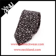 2015 nuevos hombres de la moda por encargo de poliéster estampado Floral Tie