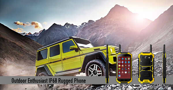 Outdoor Enthusiast IP68 Rugged Phone