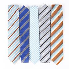 Handgemachte 100% Seide Woven Skinny Neck Tie