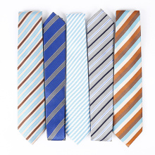Handmade 100% Silk Woven Skinny Neck Tie