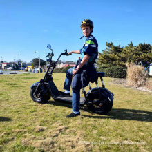 13.6ah/21.8ah lithium battery citycoco 1500W/2000W fat tire electric scooter