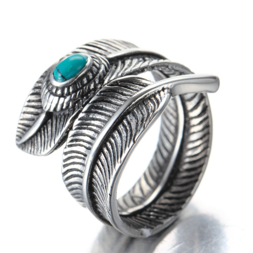 fashion feather ring