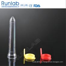 12ml PS Tubo de orina con tubo de sedimento
