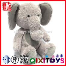 CE meilleur vente personnalisé peluche animal éléphant en forme de coussin de corps pour les enfants