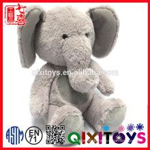 CE best selling custom plush animal elephant shaped body pillow for children
