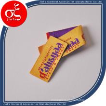 Hecho en China Fabricante de etiquetas tejidas