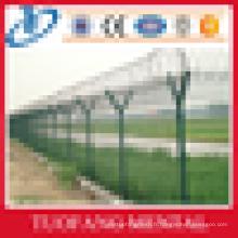 358 clôture anti escalade / clôture de l'aéroport / clôture de sécurité soudée (fabricant professionnel)