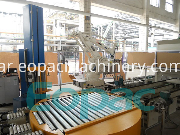 Automatic Pallet Shrink Wrap Machine