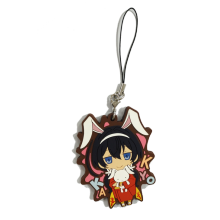 Fashionable Soft PVC Keychain