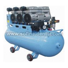 Compressor de ar odontológico silencioso de Oilless & silencioso