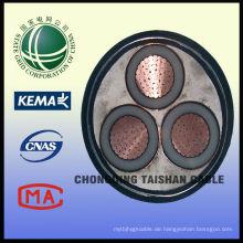 State Grid 10kV 3 * 300mm2 Kabel für PV DC Kabel