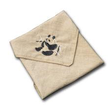 Pañuelos bordados de animales Pañuelos para mujeres y hombres
