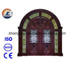 Exterior Meranti Solid Wooden Door