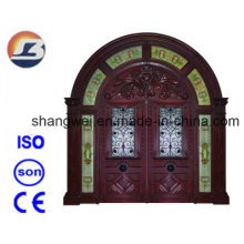 Exterior Meranti Solid Wooden Door