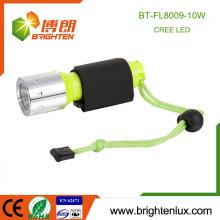 Heißer Verkaufs-beweglicher Dringlichkeits-Tauchgebrauch-hohes helles nachladbares 18650 Zellen-angetriebenes xml t6 10w beste Dimmer-Tauchen-Taschenlampen