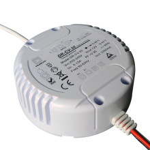 round 12watt 12volt dimmable led driver