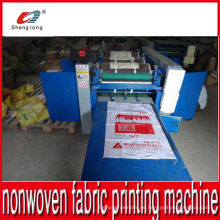 Non Woven Stoff Roll Tasche Druck Maschine China Hersteller Hersteller