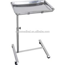 Высокое качество SS. Мобильные больничные хирургические инструменты Tray trolley for sale
