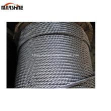 7x19 7x7 cuerda de alambre de acero galvanizado