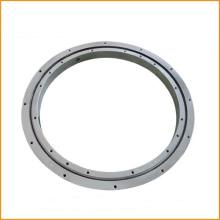 Cojinete de giro de contacto angular de cuatro filas de una fila sin engranaje
