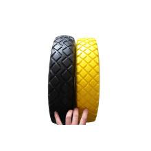 Твердые шины, PU пены шины, твердое колесо, PU пены колесо 400-8
