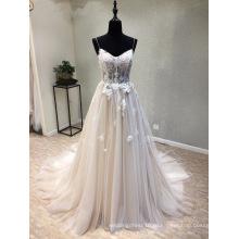 Мода Платье Кружева Вечернее Свадебное Платье Свадебные Платья