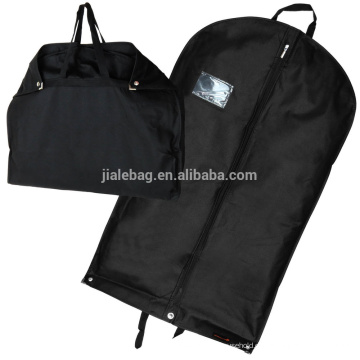 Staubdichte Mothproof Durable schwarz Faltbare Non Woven Kleidersack