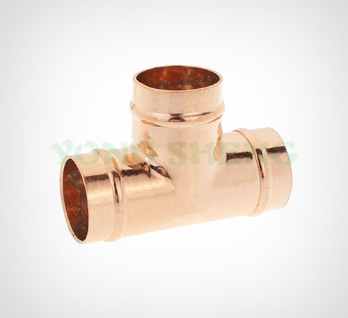 Copper Fitting Equal Tee