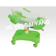 (A-150) ABS Luxury Green Baby Carriage