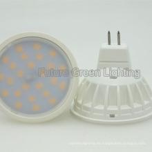 Bombilla caliente 5W 520lm LED SMD GU10 / MR16