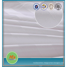Sateen Stripe White 50 poly 50 cotton fabric for sheeting