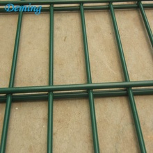 PVC bersalut pagar Double Welded Wire