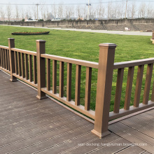 Waterproof Weather Resistant Landscape Commercial and Residential WPC Wood Plastic Composite Handrail