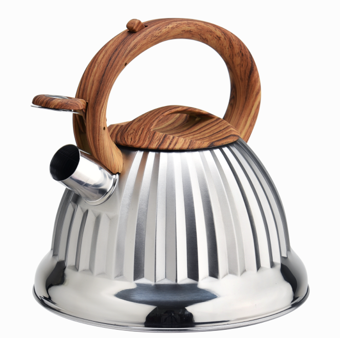 Popular Whistling Kettle Soft Touch Handle 387