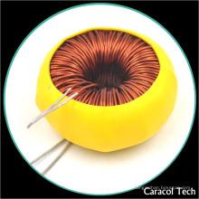 T6X3X3 Fio de cobre 0,4 mm Toroidal Comum Modo Indução 150uh Com RoHs UL certificações
