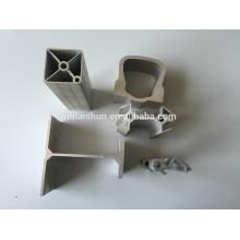 Perfil de alumínio para gabinete de cozinha perfil