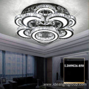 ceiling led fancy chandelier crystal handmade chandelier
